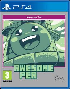 awesome pea retail red art games ps4 cover www.limitedgamenews.com
