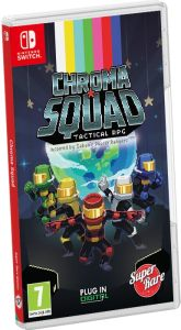 chroma squad tactical rpg retail limited run games nintendo switch cover www.limitedgamenews.com