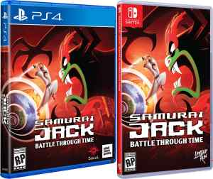 samurai jack battle through time retail release limited run games playstation 4 nintendo switch cover www.limitedgamenews.com
