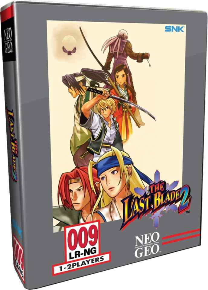 the last blade 2 retail release limited run games collectors edition ps4 cover www.limitedgamenews.com