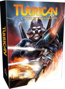 turrican anthology vol 1 2 retail release strictly limited games collectors edition ps4 nintendo switch cover www.limitedgamenews.com