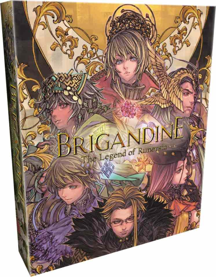 brigandine the legend of runersia retail release limited run games collectors edition playstation 4 cover www.limitedgamenews.com