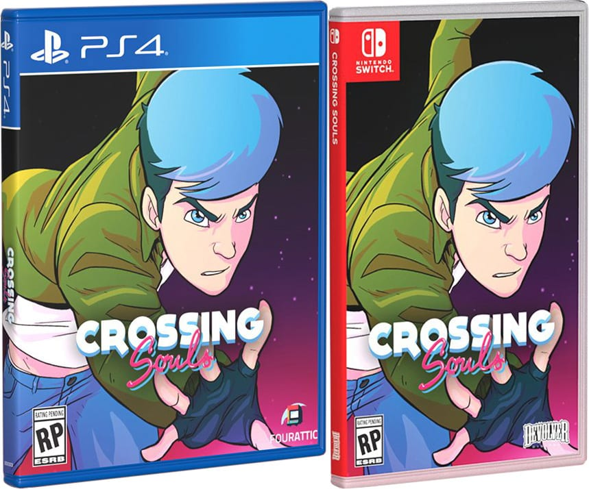 crossing souls retail special reserve games limited run games cover variant playstation 4 nintendo switch cover www.limitedgamenews.com