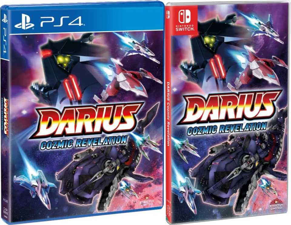darius cozmic revelation retail strictly limited games standard edition playstation 4 nintendo switch cover www.limitedgamenews.com