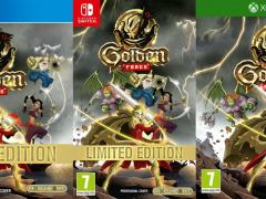 golden force retail release pixelheart xbox one playstation 4 nintendo switch cover www.limitedgamenews.com