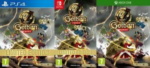 golden force retail release pixelheart xbox one playstation 4 nintendo switch cover www.limitedgamenews.com