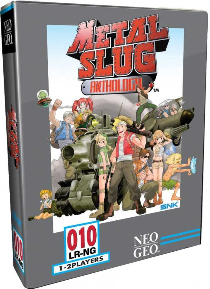 metal slug anthology retail release classic edition limited run games playstation 4 cover www.limitedgamenews.com