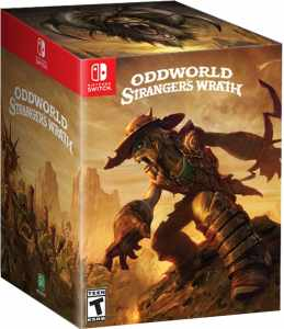 oddworld strangers wrath hd collectors edition retail microids nintendo switch cover www.limitedgamenews.com