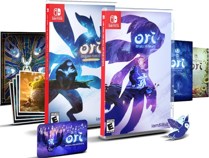 ori and the blind forest and the will of wisps collectors edition retail release iam8bit nintendo switch cover www.limitedgamenews.com