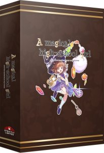 a magical high-school girl collectors edition retail strictly limited games nintendo switch cover www.limitedgamenews.com