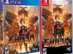 chasm retail limited run games standard edition playstation 4 nintendo switch cover www.limitedgamenews.com