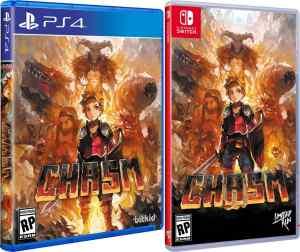 chasm retail limited run games standard edition playstation 4 nintendo switch cover www.limitedgamenews.com