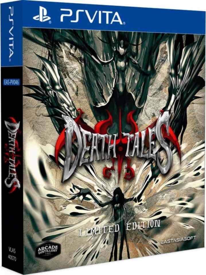 death tales limited edition retail asia multi-language eastasiasoft playstation vita cover www.limitedgamenews.com