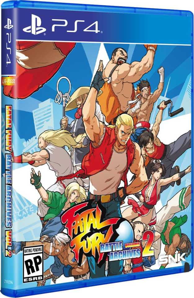 fatal fury battle archives volume 2 retail limited run games standard edition playstation 4 cover www.limitedgamenews.com