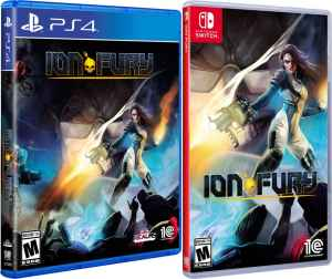 ion fury retail us release 3d realms playstation 4 nintendo switch cover www.limitedgamenews.com