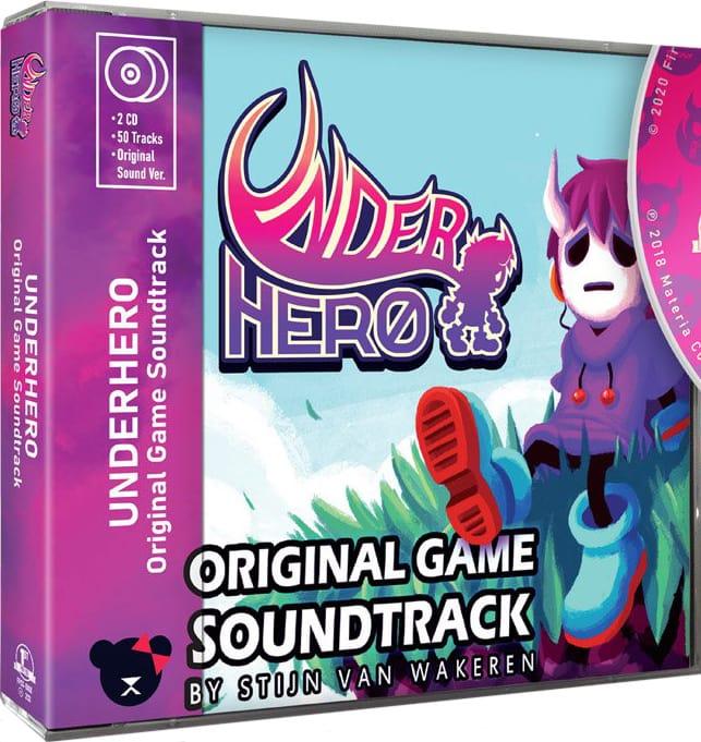 underhero retail first press games soundtrack cover www.limitedgamenews.com