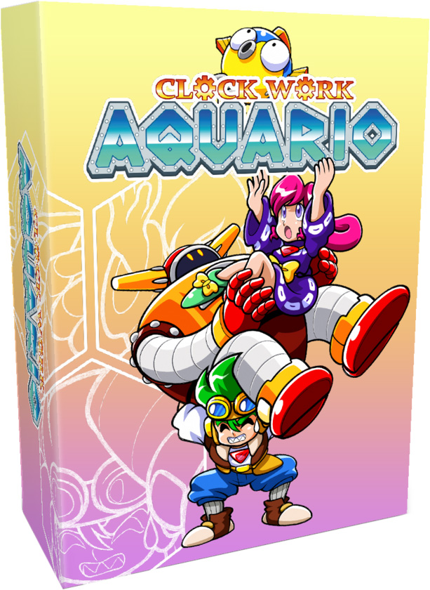 clockwork aquario physcal retail release collectors edition strictly limited games 3rd anniversary playstation 4 nintendo switch cover www.limitedgamenews.com