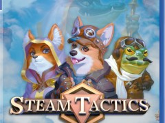 steam tactics physical retail release playstation 4 cover www.limitedgamenews.com