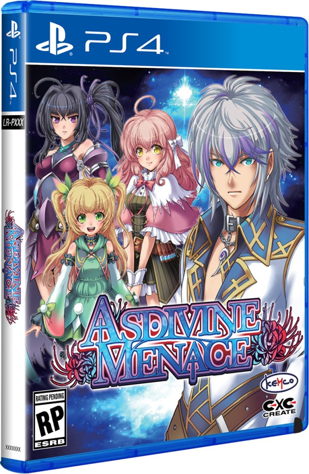 asdivine menace physical retail release limited run games playstation 4 cover www.limitedgamenews.com