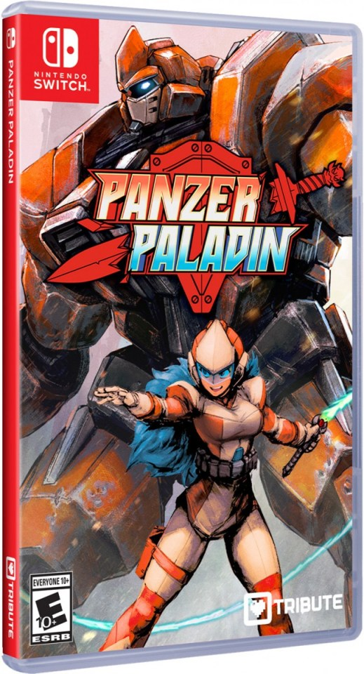 panzer paladin standard edition physical retail release tribute games nintendo switch cover www.limitedgamenews.com