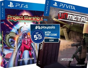 project starship x unmetal limited edition lgn coupon affiliate link playstation 4 playstation vita asia multi-language physical retail release ps4 psvita cover www.limitedgamenews.com