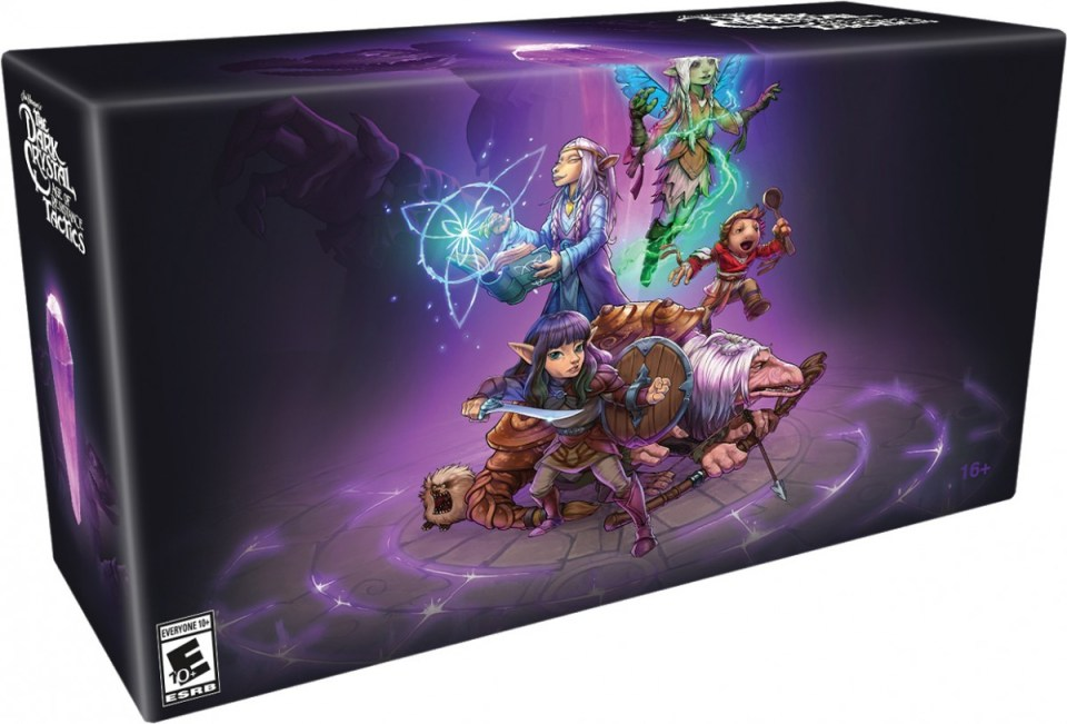 the dark crystal age of resistance tactics collectors edition physical retail release limited run games playstation 4 nintendo switch cover www.limitedgamenews.com