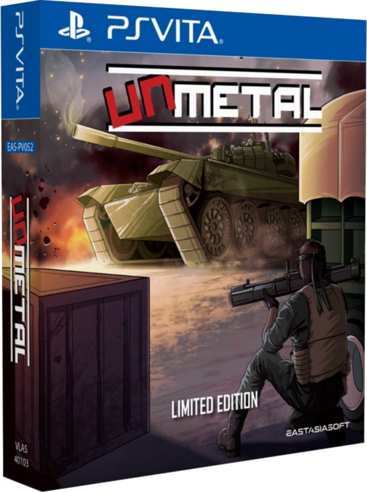 unmetal limited edition eastasiasoft asia multi-language physical retail release playstation vita cover www.limitedgamenews.com