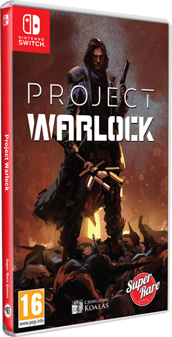 project warlock physical retail release super rare games nintendo switch cover www.limitedgamenews.com