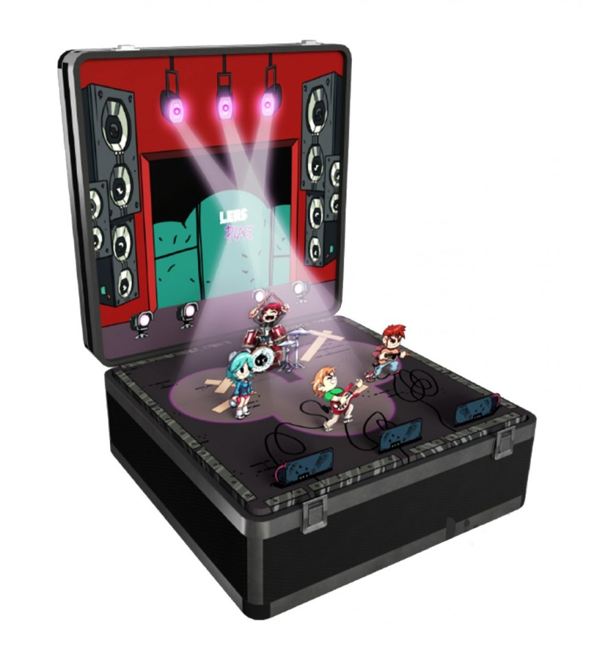 scott pilgrim vs the world the game complete edition k.o. edition physical retail release ps4 nintendo switch cover www.limitedgamenews.com
