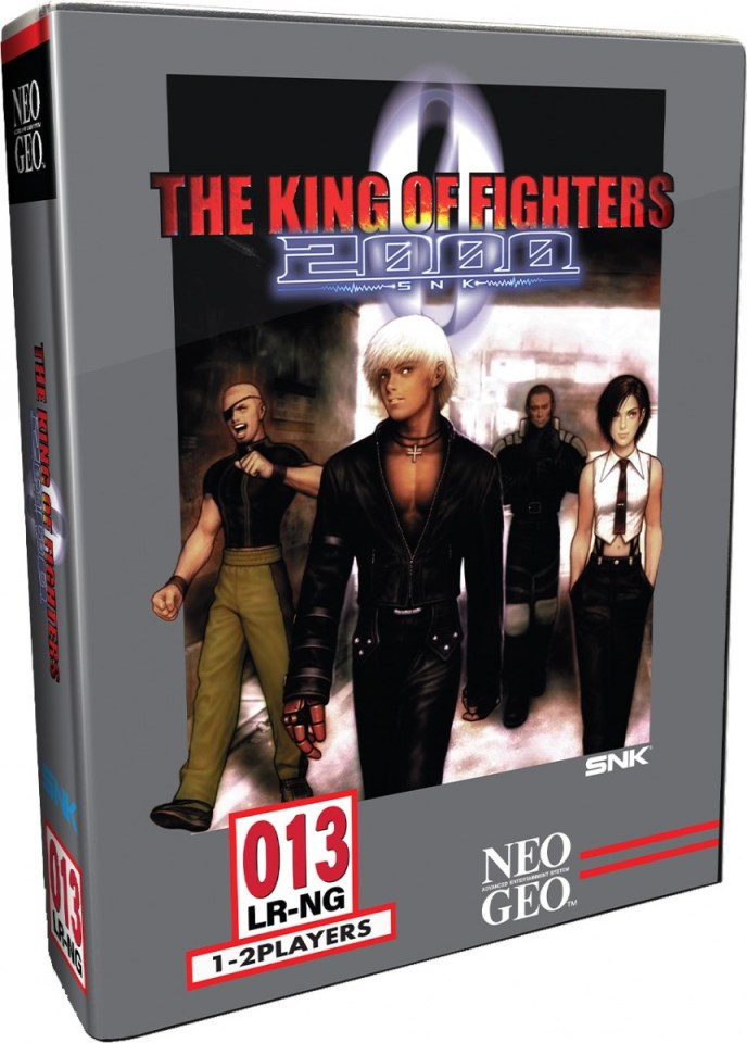the king of fighters 2000 collectors edition physical retail release limited run games playstation 4 cover www.limitedgamenews.com