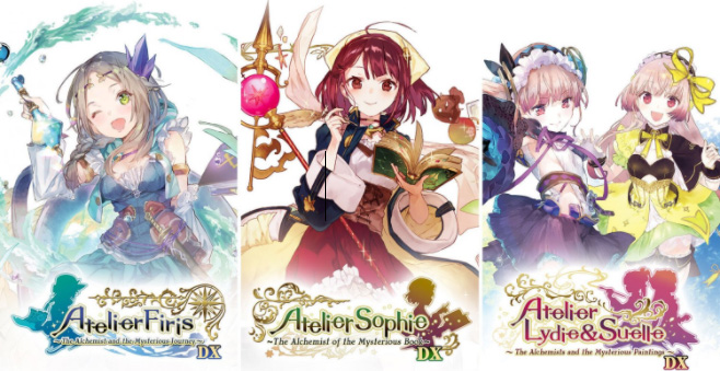 atelier mysterious trilogy deluxe pack physical retail release asian english multi-language release nintendo switch cover www.limitedgamenews.com