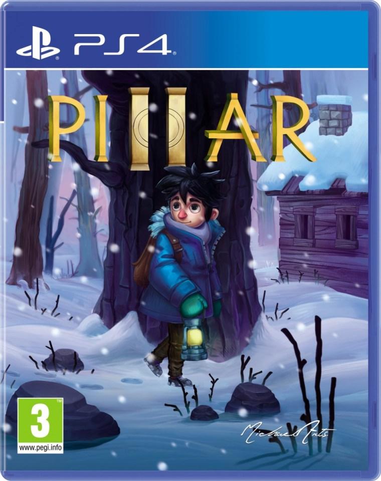 pillar retail red art games playstation 4 cover www.limitedgamenews.com