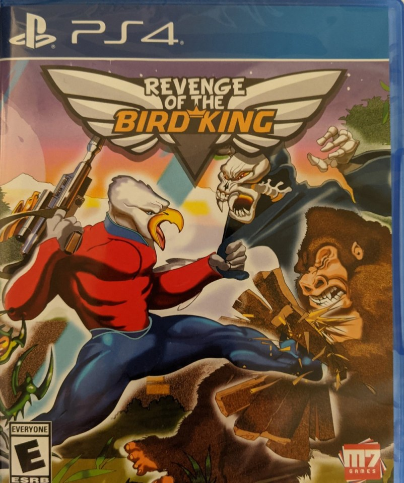 revenge of the bird king physical retail release m07 games playstation 4 cover www.limitedgamenews.com