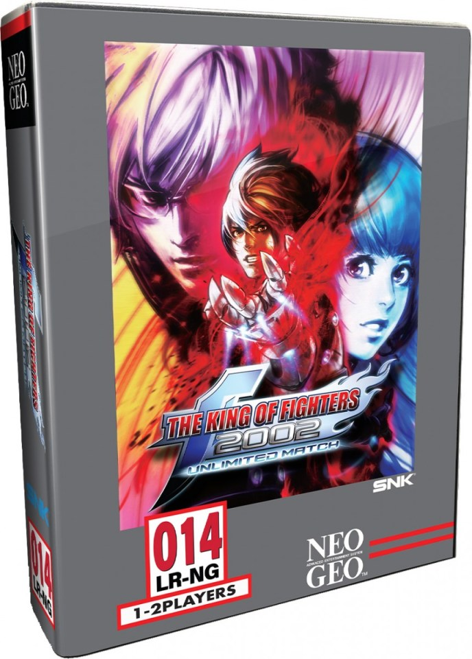 the king of fighters 2002 unlimited match classic edition physical retail release limited run games www.limitedgamenews.com