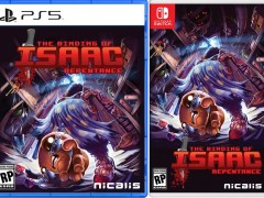 the binding of isaac repentance physical retail release nicalis playstation 5 nintendo switch www.limitedgamenews.com