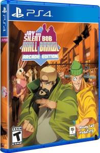 jay and silent bob mall brawl arcade edition physical retail release standard edition limited run games playstation 4 cover www.limitedgamenews.com