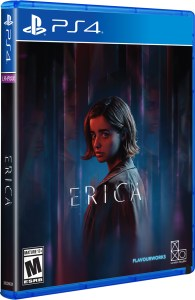 erica physical retail release limited run games playstation 4 cover www.limitedgamenews.com