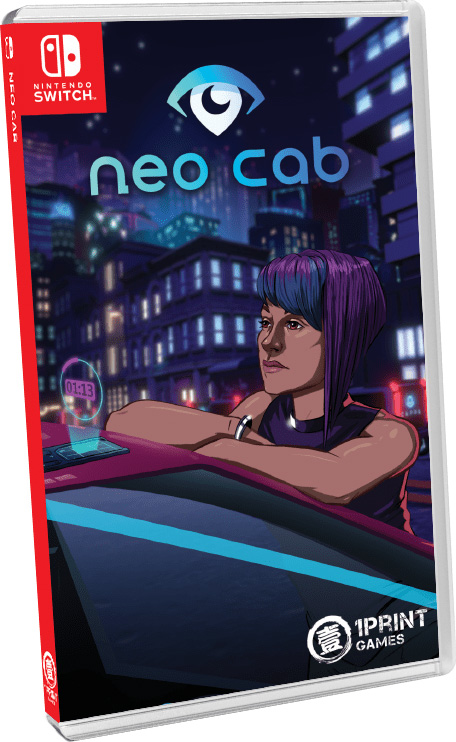 neo cab physical retail release 1print games nintendo switch cover www.limitedgamenews.com