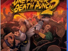 one finger death punch 2 physical retail release vgny soft eastasiasoft playstation 4 cover www.limitedgamenews.com