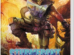 sturmfront the mutant war übel edition physical retail release red art games nintendo switch cover www.limitedgamenews.com