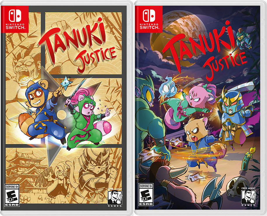 tanuki justice standard edition vgnysoft exclusive edition physical retail release vgnysoft nintendo switch cover www.limitedgamenews.com