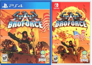 broforce physical retail release special reserve games playstation 4 nintendo switch cover www.limitedgamenews.com