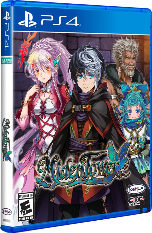 miden tower physical retail release limited run games playstation 4 cover www.limitedgamenews.com