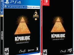 republique anniversary edition standard edition physical retail release limited run games playstation 4 nintendo switch cover www.limitedgamenews.com