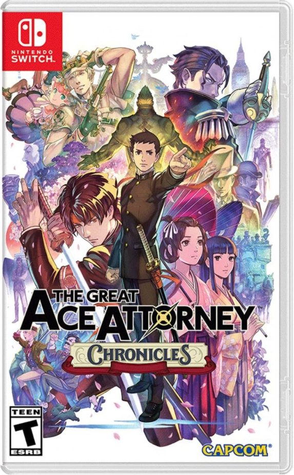 the great ace attorney chronicles physical retail release usa nintendo switch cover www.limitedgamenews.com