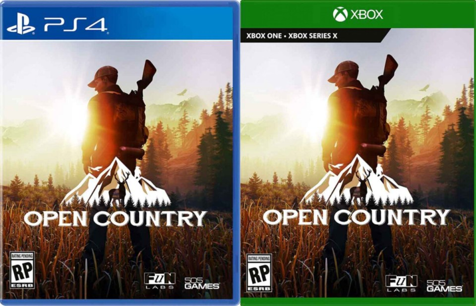 open country physical retail release usa xbox one xbox series x playstation 4 cover www.limitedgamenews.com