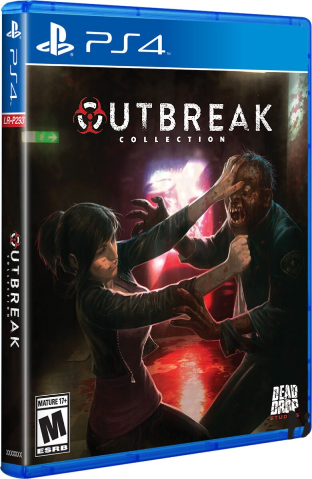 outbreak collection physical retail release limited run games playstation 4 cover www.limitedgamenews.com
