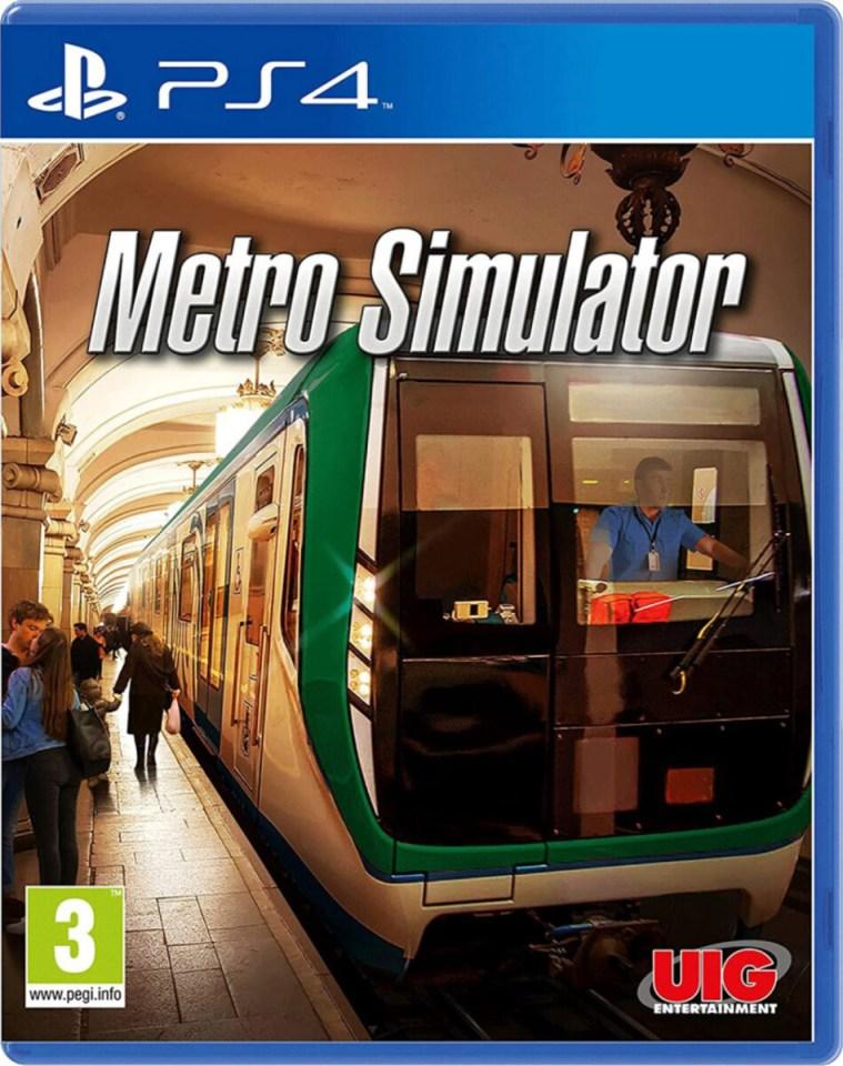 metro simulator physical retail release europe playstation 4 cover www.limitedgamenews.com
