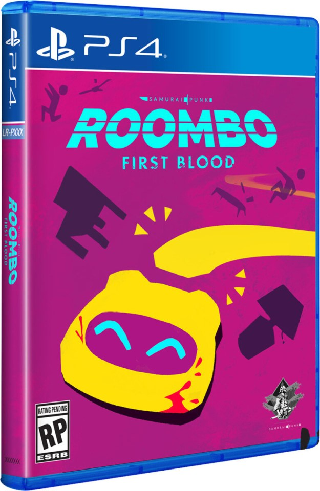 roombo first blood physical retail release limited run games playstation 4 cover www.limitedgamenews.com