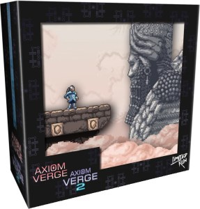 axiom verge 1 2 double pack collectors edition physical retail release limited run games playstation 4 nintendo switch cover www.limitedgamenews.com